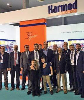 Karmod verwelkomt zijn gasten uit meer dan 123 landen op de MUSIAD EXPO 2016