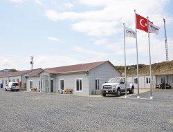 Bouwplaats gebouwen voor het derde vliegveld van Istanbul zijn voltooid door Karmod