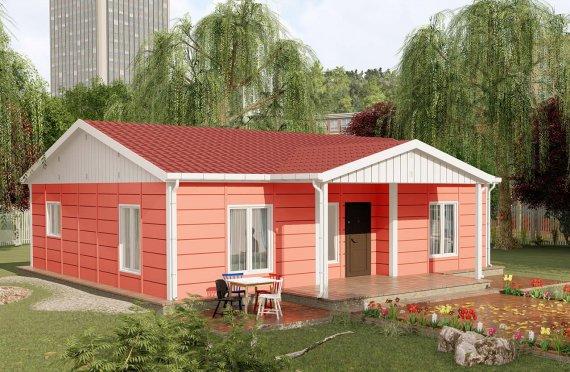 100 m2 Modulair huis