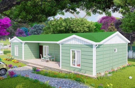 102 m2 Modulair huis