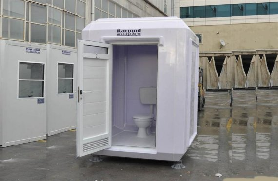 150x150 Verplaatsbare Toilet&Douche Cabine