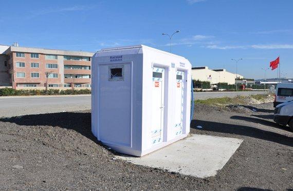 150x270 Verplaatsbare Toilet & Douchecabine