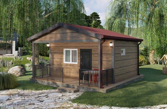 28 m2 Modulair huis
