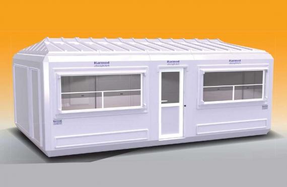 Verplaatsbaar Gebouw 390x630