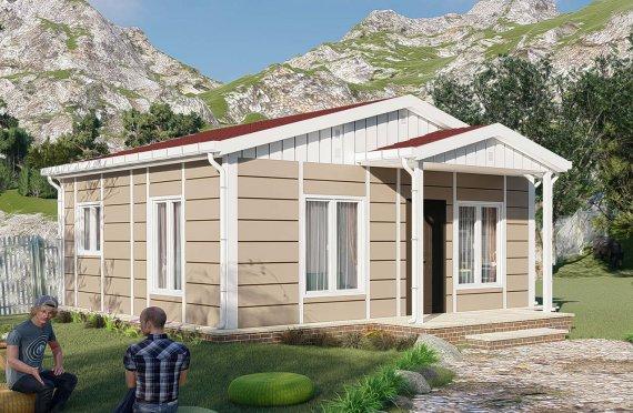 45 m2 Modulair huis
