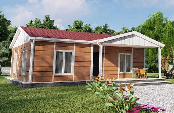 75 m2 Modulair huis