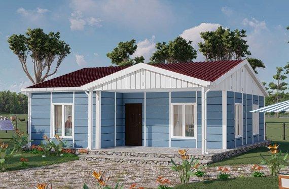 82 m2 Modulair huis