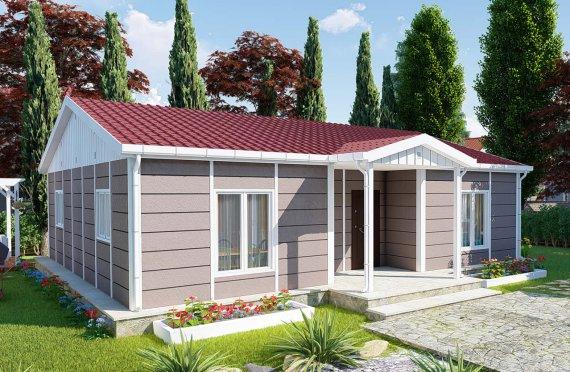 95 m2 Modulair huis