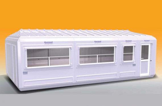 Verplaatsbaar Gebouw 390x750cm