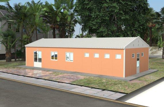 Elementenbouw Cafetaria 98m²
