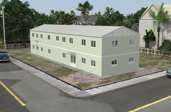 Elementenbouw Kantoorgebouw 463 m²