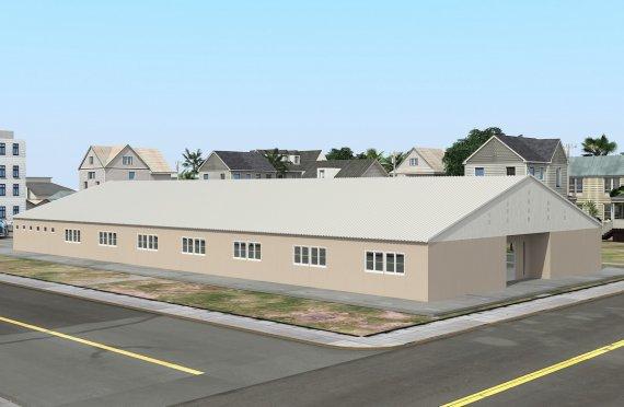 Verplaatsbaar Klaslokaal  808 m²