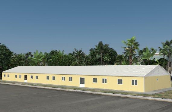 Verplaatsbaar Klaslokaal  681m²