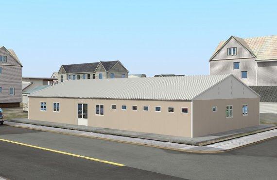 Elementenbouw Ziekenhuis 275m²