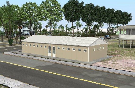 Geprefabriceerde WC & Douchegebouw 145-m²