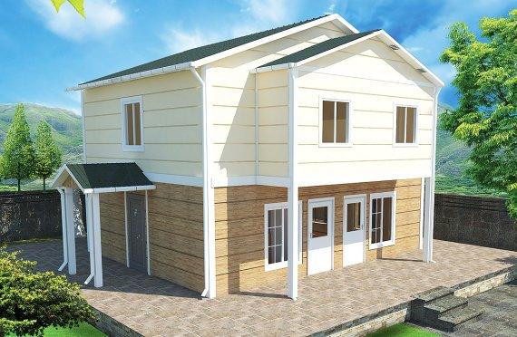 Geprefabriceerde huis 114m²