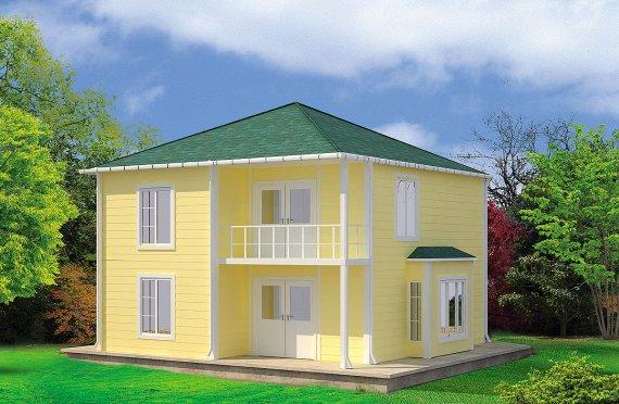 Geprefabriceerd Huis 124m²