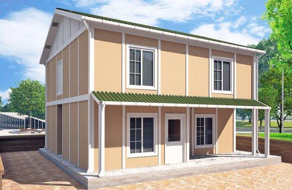 Geprefabriceerd Huis 127m²