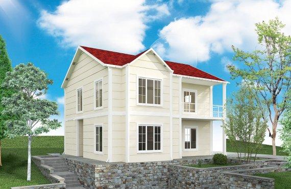 Geprefabriceerd Huis 132m2