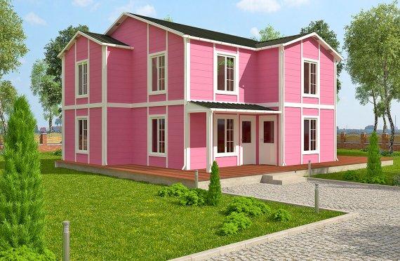 Geprefabriceerd Huis 147m2