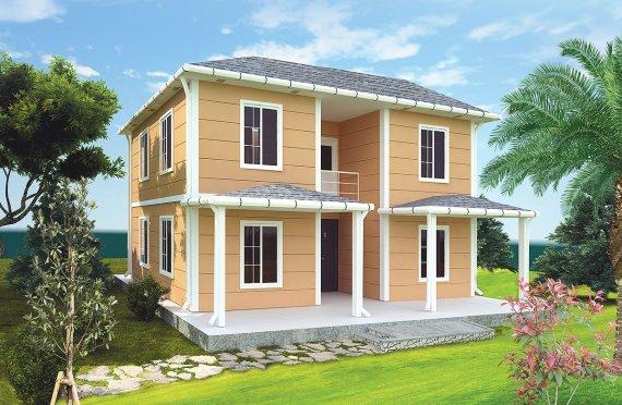 Geprefabriceerd Huis 148m2