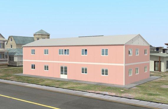 Verplaatsbaar Klaslokaal  480m²