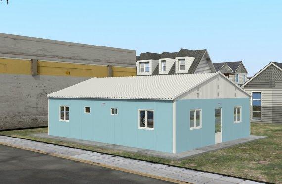 Elementenbouw Accommodatie Eenheid 102m²
