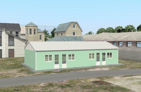 Elementenbouw Accommodatie Eenheid 117m²