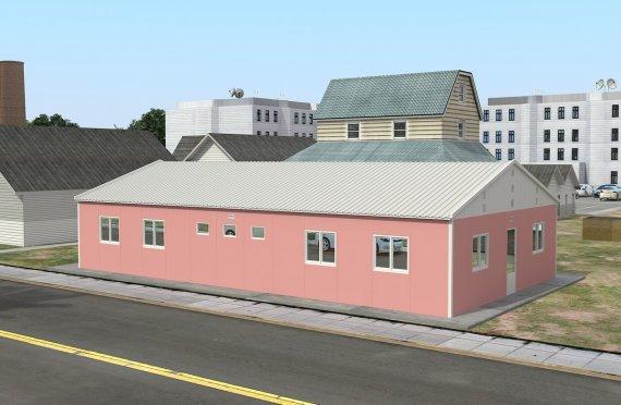 Elementenbouw Accommodatie Eenheid 148m²
