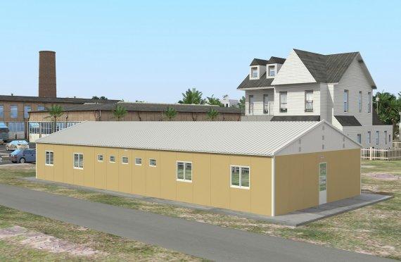 Elementenbouw Accommodatie Eenheid 193m²