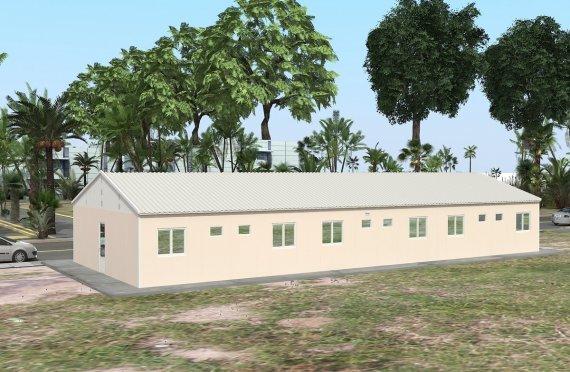 Elementenbouw Accommodatie Eenheid 204m²