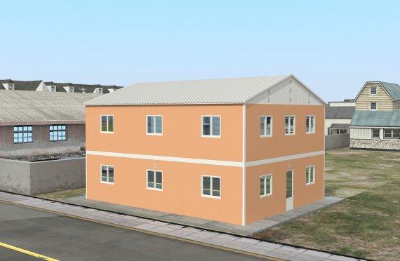 Elementenbouw Accommodatie Eenheid 206m²