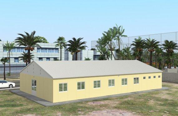 Elementenbouw Accommodatie Eenheid 232m²