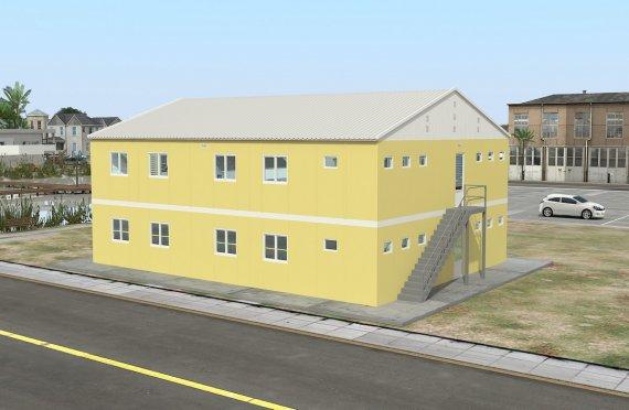 Elementenbouw Accommodatie Eenheid 348m²