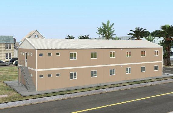 Elementenbouw Accommodatie Eenheid 474m²