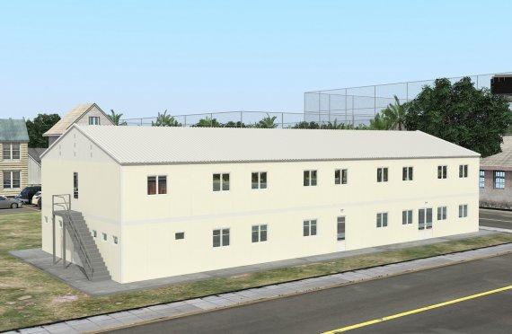 Elementenbouw Accommodatie Eenheid 662m²