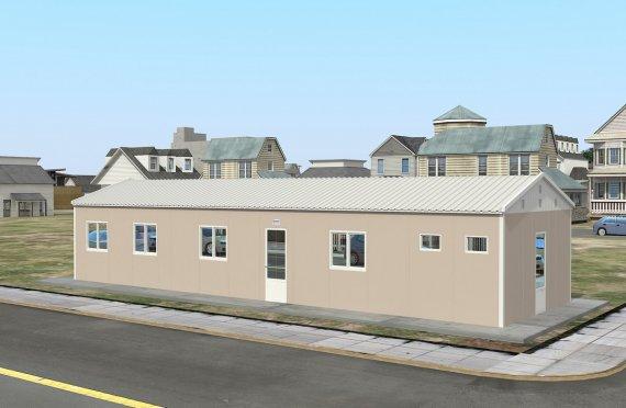 Elementenbouw Accommodatie Eenheid 86m²