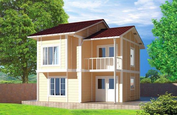 Geprefabriceerd Huis 91m²