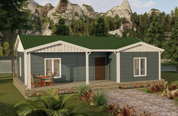 87 m2 Modulair huis
