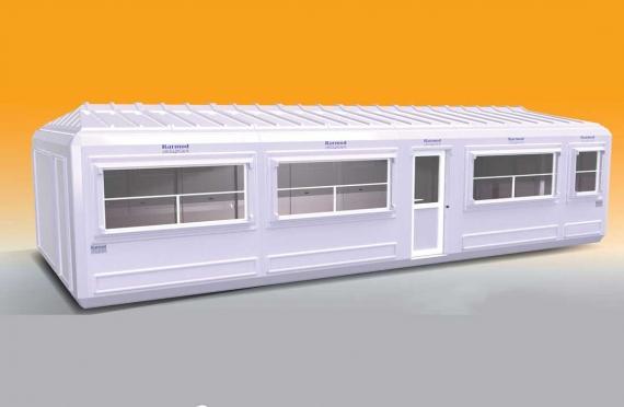 Verplaatsbaar Gebouw 390x990