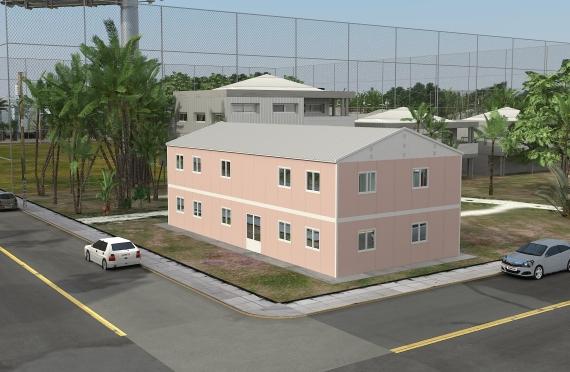 Elementenbouw Kantoorgebouw 340m²