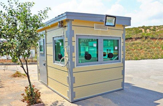 Gepantserde cabine