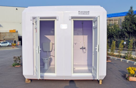 Verplaatsbare Toiletten en Douches
