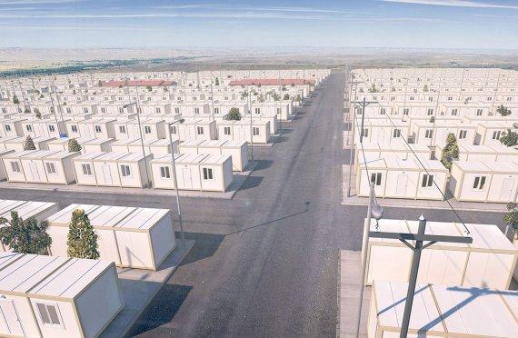 Tijdelijke vluchtelingenkampen