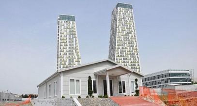 Monumento sales- en informatiekantoorgebouwen voltooid in Kartal