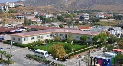 Geprefabriceerd management gemeentegebouw voltooid