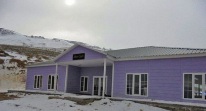 Karmod's geprefabriceerde gebouwen blijven aan de top: nieuw ski-centrum gebouwd op de berg Ergan.