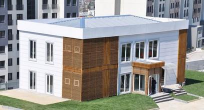 Luxueus geprefabriceerd sales kantoor voor Bosporus Stadsproject