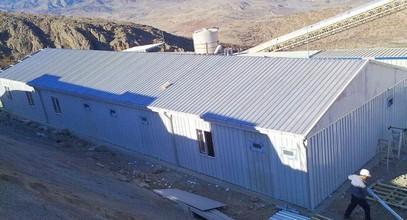 Bouwplaatsgebouw afgeleverd aan Anagold Mining, Turkije