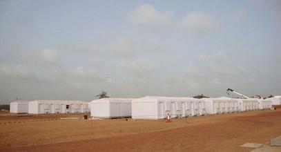 Karmod voltooide een bouwplaats geschikt voor 250 personen in Somalië